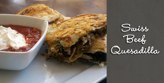 swiss-beef-quesadilla
